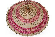 Vintage Japanese Paper Parasol I on OneKingsLane.com