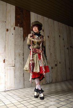 Japanese-Slavic Steampunk.
