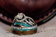 Country Wedding Rings, Camo Wedding Rings, Tiffany Wedding Rings, Wedding Rings Vintage, Diamond Wedding Rings, Vintage Engagement Rings, Wedding Jewelry, Wedding Bands, Country Engagement Rings