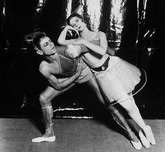 Serge Lifar y Alice Nikitina a La Chatte (La gata), 1927. Fotografía de Sasha  © V Images