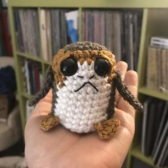 Ravelry: Amigurumi Star Wars Porg pattern by Allison Hoffman
