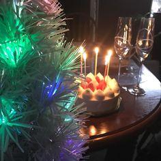 もちろんケーキも ケーキはクリスマス仕様ではなかったので少しお得でした