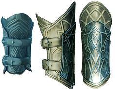 Talion, Dark Shadow, fore arm armour