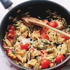 Creamy Chicken Pasta at Diethood Recipe Creamy Chicken Pasta + KitchenAid Stand Mixer Giveaway!
