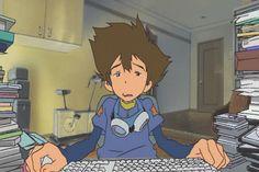 Digimon: The Movie, Tai and Kari gif