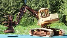 Wooden Truck, Rc Model, Toy Trucks, Wood Toys, Heavy Equipment, Yard Art, Scale Models, Woodworking Plans, Wood Projects