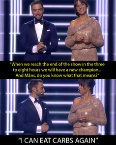 When they opened the show with this. | Petra Mede And Måns Zelmerlöw Were Bloody Great Eurovision Presenters