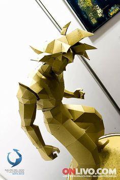 Escultura de Cartón en SOFA