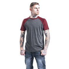 T-shirt Urban Classics  »Raglan Contrast Tee«   Køb nu hos EMP   Masser af T-shirts Basics  fås online ✓ Stærke priser!