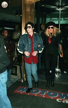 Michael Jackson and Karen Faye