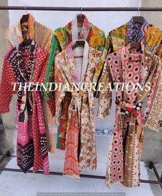 Boho Kimono, Floral Kimono, Cotton Kimono, Winter Jackets Women, Coats For Women, Festival Outfits, Festival Clothing, Quality Lingerie, Dressmaking Fabric