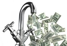 3 Ways to Save Money on Your Water Bill Get Money Now, Ways To Save Money, Cash Advance Loans, Business Credit Cards, Fast Cash, Payday Loans, Water Conservation, Good Grips, Saving Money