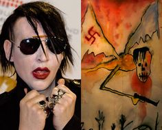 Marilyn Manson's art exhibit entitled 'The Path of Misery' in the San Idefonso museum in Mexico City. Marilyn Manson Art, Human Condition, Artist Gallery, Magpie, Mexico City, Exhibit, Artworks, Art Photography, Halloween Face Makeup