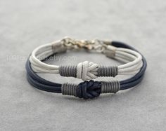 Couples Bracelet Love Knot Long distance Bracelet Set Simple
