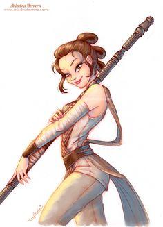 Ariadna Herrera's artblog - ★  Happy Star Wars Day everyone! ★...