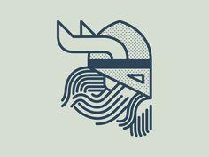 Viking by Kiel Johnson #Design Popular #Dribbble #shots