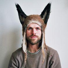 Hairy fox by Barbara Keal