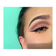 Second attempt to a cut crease Brows: #anastasiadipbrow #granite Eyes: #morphe35t #nyxliner by g0ldng0ddesss