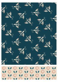 Dragonfly Garden collection, Frances Boyd