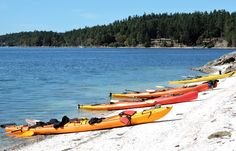 World famous destination for ocean kayaking. Floating Boat, Float Plane, Pipe Dream, Vancouver Island, Beautiful Islands, Long Weekend, Fishing Boats, Weekend Getaways, Boating