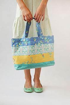 Mother-Daughter Tote Bag | Free Sewing Patterns | Oliver + S