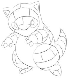 Coloring Pages Of Pikachu Crawfish