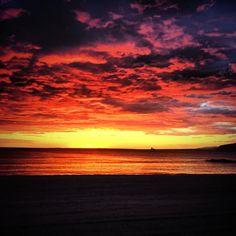 Atardecer en Almería / Sunset over Almería, by @MichaelMaroDj