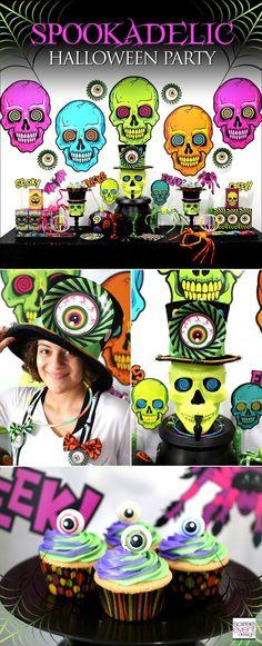 Soiree Event Design | Kid-Friendly Spookadelic Halloween Party Ideas | http://soiree-eventdesign.com
