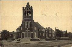 http://www.ebay.com/itm/Charlottesville-VA-First-Baptist-Church-c1910-Postcard/362044184363