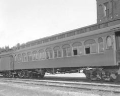 CMStP&P car, engine number 3830 :: Western History