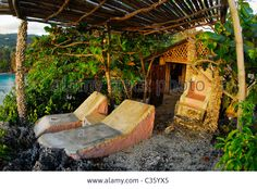 Fig Tree House Hut At Great Huts, An Eco-resort Village Of Stock ...