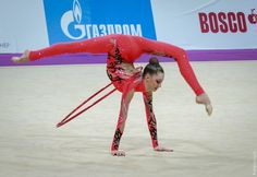Maria Titova from Russia at Grand Prix Moscow 2014