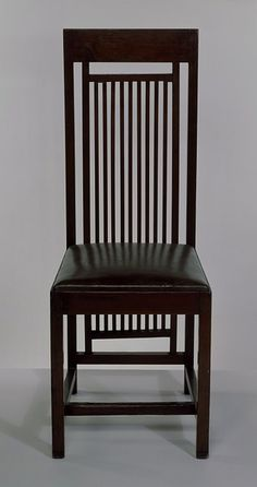 Frank Lloyd Wright Dining chair  Date:1908