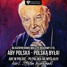 Cardinal Wyszynski Famous People, Best Quotes, Writer, Education, Nostalgia, Royals, Historia, Poland, Humor