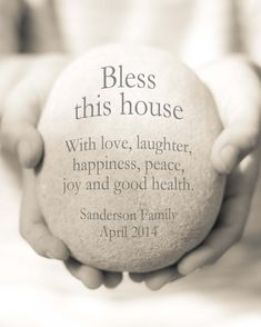 Bless this House Print New Home Gift by OceanDropPhotography, $24.00
