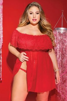 Flaunt Your Curves: Plus Size Sexy Lingerie & BBW Underwear