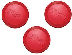 3 Pack KONG Flyer Dog Toys Small Red * Learn more by visiting the image link. (This is an affiliate link) Small Dogs For Sale, Dog Treadmill, Electric Dog Collar, Plastic Dog Crates, Wireless Dog Fence, Dog Stroller, Dog Shock Collar, Best Dog Training, Dog Pin