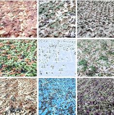 VILEAD 9 Colors 2M*3M Hunting Camouflage Netting Camo Net for Military Base Camping Boat Roof Military Shelter Beach Tent