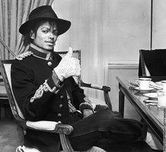 Michael Jackson loved his #tea.