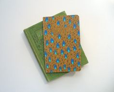 moleskine journal  awesomeness hand painted by MessyBedStudio, $12.00