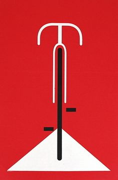 Bicycle hand made screen print poster measures 16 inches x 20 inches printed on heavy paper signed & numbered edition artist: Eleanor Grosch (Pushmepullyou Design) Graphic Design Typography, Graphic Design Illustration, Graphic Art, Bike Illustration, Range Velo, Gravure Illustration, Bike Poster, Screen Print Poster, Bicycle Art