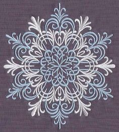 paper quilling inspiration - Snowflake