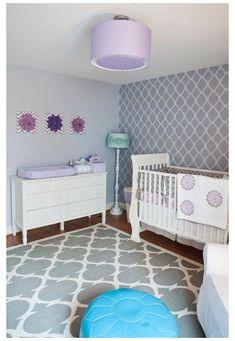 28 Contemporary Baby Nursery Design Ideas...I want my bedroom to look like this!! : ) #nurserydesign#baby #bedroom #contemporary #design #ideasi #nursery #nurserydesign Nursery Room Decor, Nursery Design, Girl Nursery, Girl Room, Nursery Ideas, Nursery Gray, Bedroom Ideas, Pastel Nursery, Wall Decor