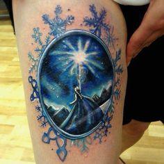 Disney - Frozen Elsa tattoo