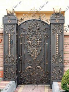 Кованые ворота и калитки цены и фото, эскизы эксклюзивные ворота распашные и откатные ворота