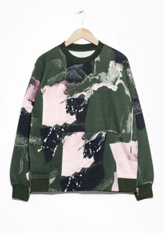 & Other Stories | Woodland Print Sweater