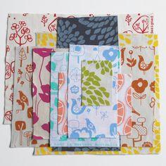 screen-printed fabric