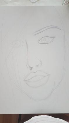 Blue Eyes, Oil, Painting, Drawings, Painting Art, Paintings, Painted Canvas