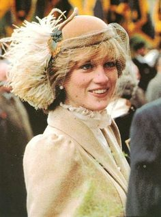October Princess Diana attend a service at St. David's Cathedral in Haverfordwest county of Pembrokeshire, Wales. Prince And Princess, Princess Kate, Princess Of Wales, Princess Charlotte, Real Princess, Lady Diana Spencer, Diana Son, Princesa Diana, The Quiet Man