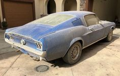 Dirty Pony: 1968 Ford Mustang Fastback #Drivers #Ford, #Mustang - https://barnfinds.com/dirty-pony-1968-ford-mustang-fastback/